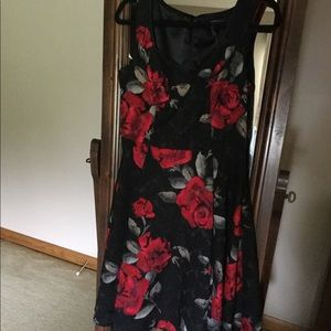 Dress, with price tag still attached
